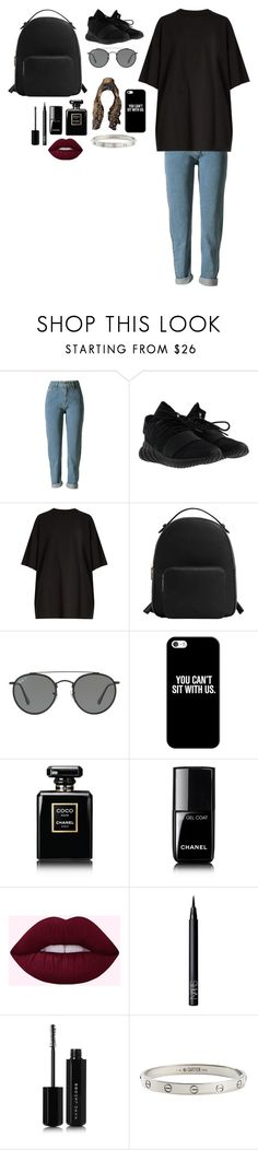 """Untitled #2489"" by kimalooy ❤ liked on Polyvore featuring adidas, Vetements, MANGO, Ray-Ban, Casetify, Chanel, NARS Cosmetics, Marc Jacobs and Cartier"