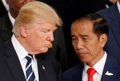 Jokowi Diminta Tunjukkan Jutaan Penggemar Donald Trump di Indonesia  KONFRONTASI - Pernyataan presiden Joko Widodo saat melakukan pertemuan bilateral di Konfrensi Tingkat Tinggi (KTT) G20 di Hamburg Jerman dengan Presiden Amerika Serikat Donald Trump menuai kritik.Politisi senior Partai Persatuan Pembangunan (PPP) Habil Marati mempertanyakan pernyataan yang disampaikan Jokowi kepada Donald Trump dalam bahasa Ingris dan menggunakan teks bahwa Donald Trump ditunggu jutaan pengemarnya di…