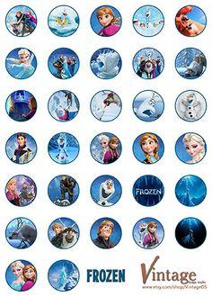 1000 images about frozen eisk nigin party on pinterest - Pegatinas pared infantiles disney ...
