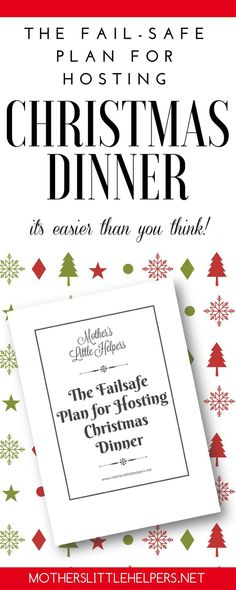 Christmas Dinner Checklist Meals, Dinners and Holidays - christmas preparation checklist