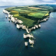 Old Harry Rocks, Isle of Purbeck, Dorset, southern England