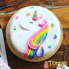 Diy Unicorn Cake, Unicorn Cake Pops, Little Pony Cake, 4th Birthday Cakes, Cake Icing, Girl Cakes, Party Cakes, Cake Cookies, How To Make Cake