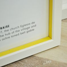 Custom painted yellow insert Custom Paint, Galleries, Framed Prints, Contemporary, Canvas, Yellow, Inspiration, Tela, Biblical Inspiration