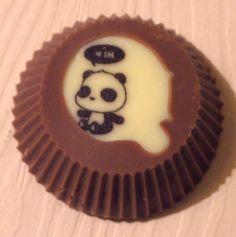 Panda Favour  www.rocksonchocs.co.uk