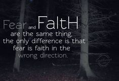 """Fear is also faith, only in the wrong direction. Day 2 of Joel Osteen's """"I Declare"""""""