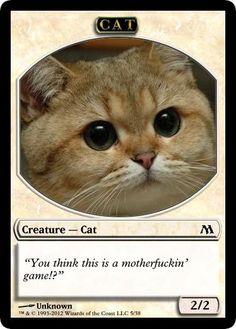 Cat Creature Token 3 by Axelpraxl