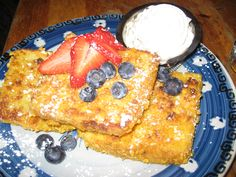 Captain Crunch French Toast....