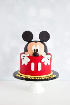 Minnie Mouse, Birthdays, Cakes, Disney Characters, Anniversaries, Cake Makers, Kuchen, Birthday, Cake