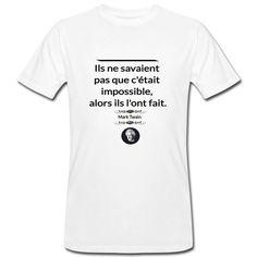 Mark Twain, Motivation, Mens Tops, T Shirt, Motivational Quotes, Supreme T Shirt, Tee Shirt, Tee, Inspiration