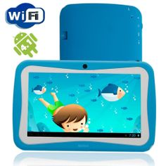 Wolvol Kids Tablet 7 inch touch screen with WIFI   Check out @ http://www.wolvol.com/?cPath=54  #Androidtablet