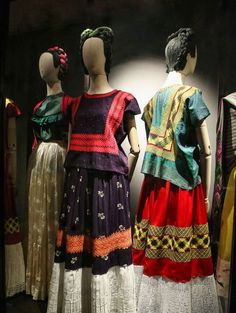 More Views of the Freida Kahlo Dress Collection