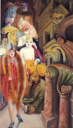 La grande ville, Triptyque part.3, 1927-1928, Otto Dix ~Via Angelique Krosse