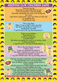 "Swati Popat Vats on Twitter: ""Why not teach #kids rhyme to help them know good touch from bad touch. Use while giving a bath,dressing your child. http://t.co/svQ34DeM4h"""
