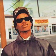 Lance 'Ryder' Wilson Gta 5, Carl Johnson, Oakley Sunglasses, Mens Sunglasses, Gta San Andreas, Playstation Games, Itachi Uchiha, Grand Theft Auto, Thug Life