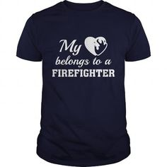 Heart Belongs Firefighter