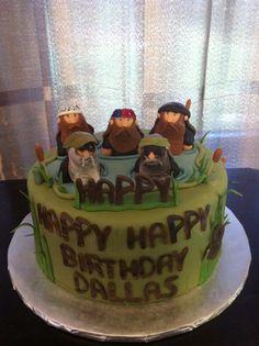 Duck dynasty cake!