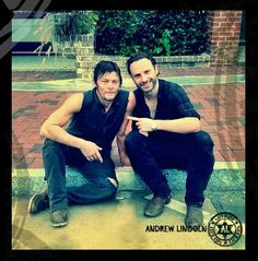 Norman Reedus ♡ Andrew Lincoln