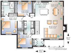 Détail Du Plan De Maison Unifamiliale W3147 V3