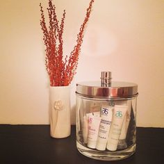 """What a great idea for sleepovers. Place this fun filled jar in your guest bedroom for your guest to use and enjoy. """"Like"""" my FB page at Surshae Arbonne Independent Consultant. Consultant ID: 21565488"""