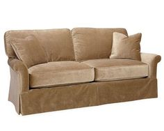 Luxor Apartment Size Sofa Covered In Grade R Bristol Velvet Available In  Other Fabrics Also Available