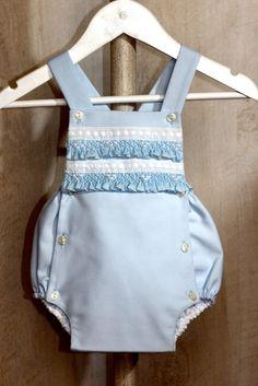 Ranita de piqué azul | Vestidobebé