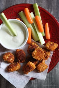 Baked Buffalo Chicken Nuggets | Skinnytaste