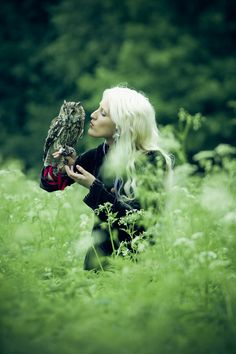 "500px / Photo ""Shaman and owl"" by Валерия Терпугова"