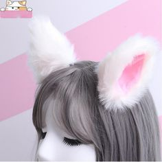 1 Pair Hot New Sweet Funny 6 Colors Bell Cat Ears Hair Clip Cosplay Anime Costume Halloween Birthday Party Hair Accessories Strong Resistance To Heat And Hard Wearing Kids Costumes & Accessories