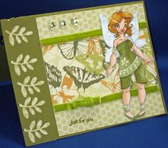 Spring Fairy Digital Stamp by Kit for Spesch Designer Stamps. Michelle's MBellishments: Spesch stamps