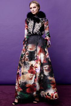 ELIE SAAB PRE-FALL 2015 http://www.style.com/slideshows/fashion-shows/pre-fall-2015/elie-saab/collection/7