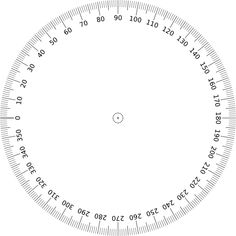 printable full 360 protractor | iGaging Digital Angle Protractor. Have to try this for Layouts!