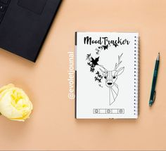 Do you have mood tracker? Let's show me! Link in BIO! #bulletjournal #bulletjournaladdict #bulletjournaljunkie #bujoemotions… Bullet Journal Junkies, Mood Tracker, Bujo, Addiction, Notebook, Let It Be, Link, The Notebook, Exercise Book
