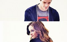 Snowbarry gif set. Caitlin Snow and Barry Allen