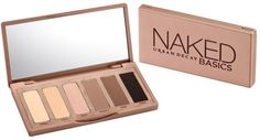 See what Naked could do for your eyes. Six sumptuous and seductive shades of gorgeous matte eyeshadow in one Palette. Naked Basics by Urban Decay. Urban Decay Eyeshadow Palette, Naked Palette, Matte Eyeshadow, Sleek Palette, Neutral Palette, Neutral Colors, Neutral Eyeshadow, Eye Colors, Neutral Makeup