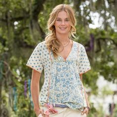 Loire River Tunic from Sundance on Catalog Spree