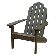 Recycled Eco-friendly Marine-grade Adirondack Beach Chair | Overstock.com Shopping - The Best Deals on Sofas, Chairs & Sectionals