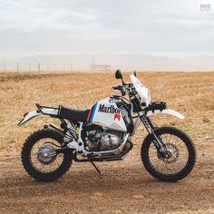 Revisiting the Paris Dakar: A BMW R80G/S restomod
