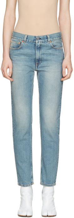 ACNE STUDIOS Blue Boy Jeans. #acnestudios #cloth #jeans