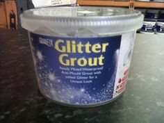 Glitter Grout to add sparkle to tiles in the home! Home Renovation, Home Remodeling, Bathroom Remodeling, Bathroom Ideas, Glitter Tiles, Gold Glitter, Bathroom Showrooms, Bathrooms, Tile Grout