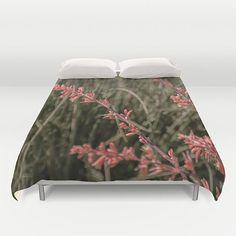 Duvet Comforter Cover Pillow Sham Bedroom Set Red by DesignerDiner