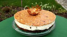 Túró guru torta, azaz a túró karamellel, mogyoróval és csokival