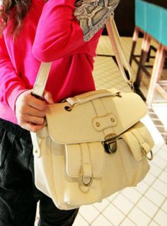 White Messenger Satchels Bag$41.00 Cambridge Satchel, Satchel Bag, Satchels, Bags, Accessories, Shopping, Fashion, Handbags, Moda