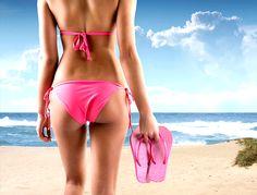 Modne bikini na lato, kostiumy kąpielowe, bikini, na plażę
