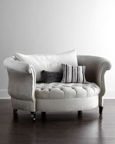 Harlow Cuddle Chair by Haute House at Neiman Marcus.