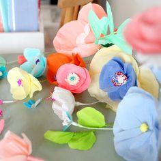 Adeline Klam - Fleurs en papier crépon