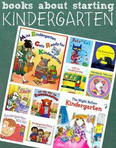 10 books to help prepare your child for kindergarten.