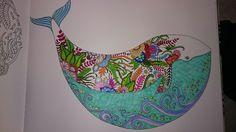 Lost Oceans coloring book