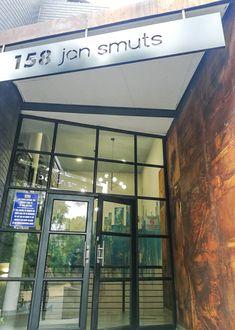 158 JAN SMUTS – Schematic Design Schematic Design, Wood Cladding, Building Contractors, Exposed Brick Walls, Innovation Design, Wall Murals, Design Elements, Signage, Architecture Design