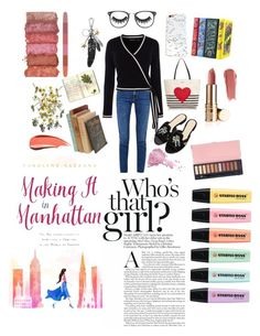 """""""My name is Eva"""" by evanindya-puspa on Polyvore featuring Acne Studios, Karen Millen, WithChic, Coach, Nasty Gal, Kate Spade, CHARLES & KEITH, Moleskine, Morphe and Bésame"""