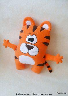 Купить Подушка-игрушка ТИГР - подушка, подушка-игрушка, подушка игрушка, игруша подушка